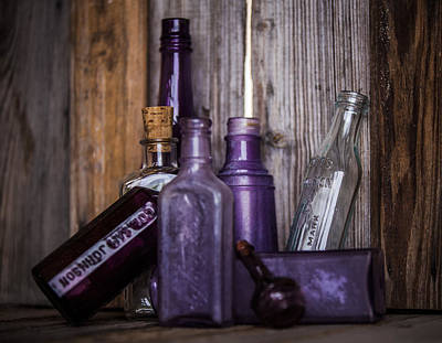 Photograph - Purple Glass by Amber Kresge