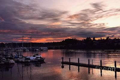 Photograph - Purple Harbor by Patricia Strand
