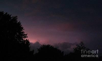 Purple Haze After Storm Art Print by Gail Matthews