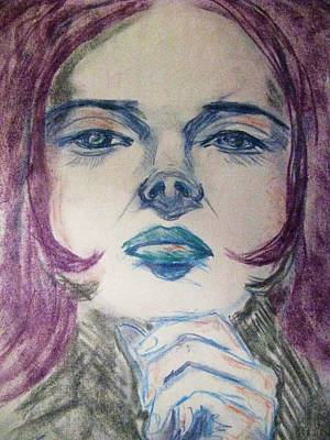 Purple Haze Art Print by Agata Suchocka-Wachowska
