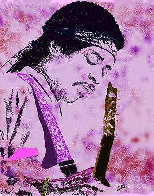 Digital Art - Purple Haze by David Jackson