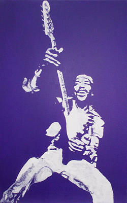 Purple Haze Art Print by Gary Hogben