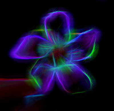 Mixed Media - Purple Haze by Pamela Walton