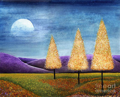 Painting - Purple Hills by Lee Owenby