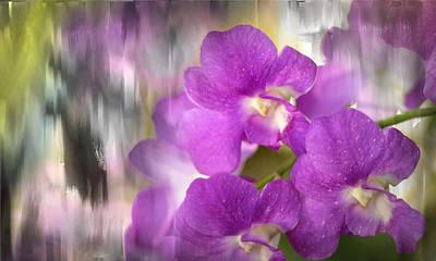 Photograph - Purple Impression by Jenny Rainbow