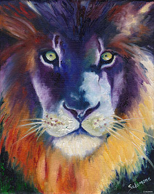 Painting - Purple Majesty by Brenda Salamone