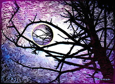 Photograph - Purple Maze by Sadie Reneau