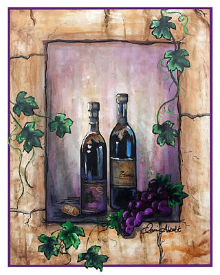 Painting - Hazy Purple Memories by Dani Abbott