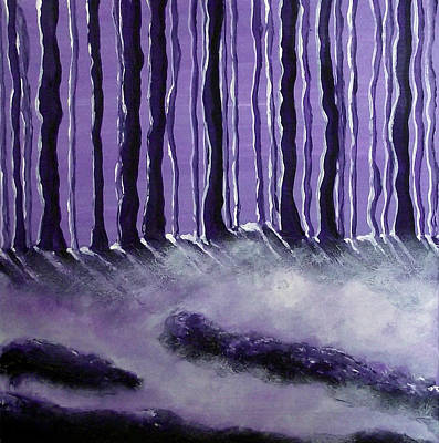 Painting - Purple Mist by Sandy Wager