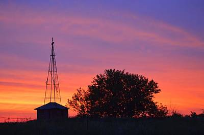 Photograph - Purple Morning by Bonfire Photography