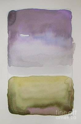 Purple Morning Print by Vesna Antic