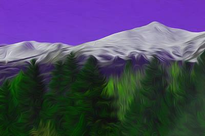 Wall Art - Photograph - Purple Mountain Majesty by Jimi Bush