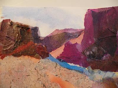 Purple Mountains Art Print by Lori Chase