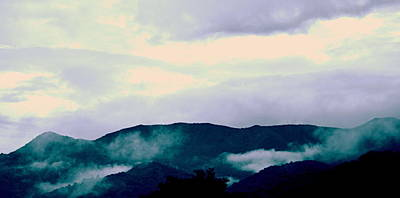 Purple Mountains Majesty Blue Ridge Mountains Art Print