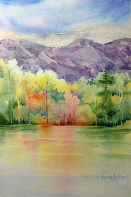 Painting - Purple Mountains Majesty by Cynthia Roudebush