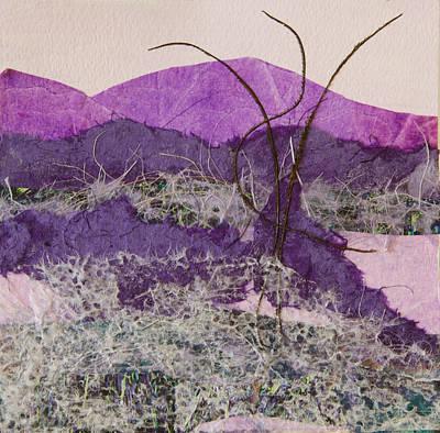 Purple Mountains Art Print by Pamela Ramey Tatum