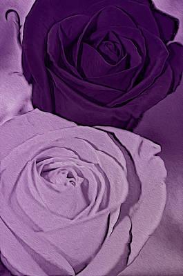 Digital Art - Purple My Favorite by Teri Schuster