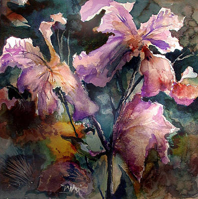 Garden Study Original by John Mabry