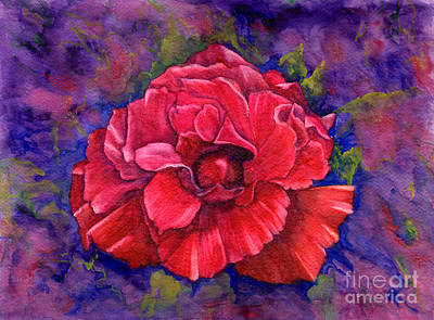Painting - Purple Passion by Nancy Cupp