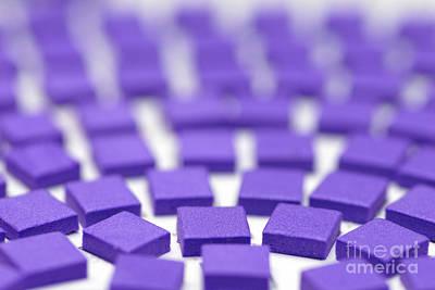 Purple Pattern Print by Amy Cicconi