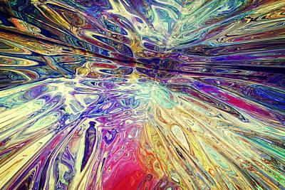 Digital Art - Purple Pepper Trip 022215 by Matt Lindley
