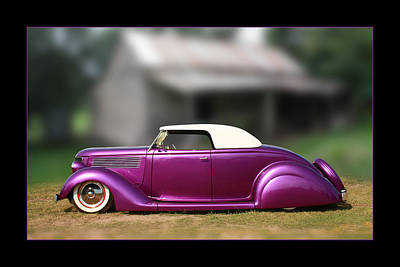 Print featuring the photograph Purple Perfection by Keith Hawley