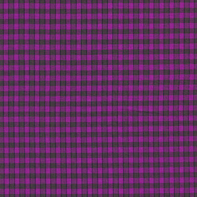 Photograph - Purple Plaid Pattern Fabric Background by Keith Webber Jr
