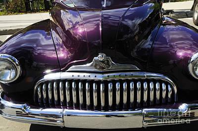 Photograph - Purple Pontiac Eight by Brenda Kean