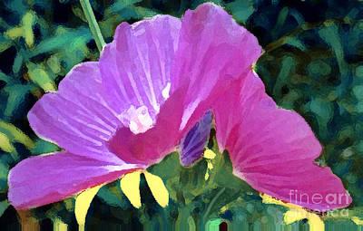 Photograph - Purple Poppy Wild Flower by Jennifer E Doll