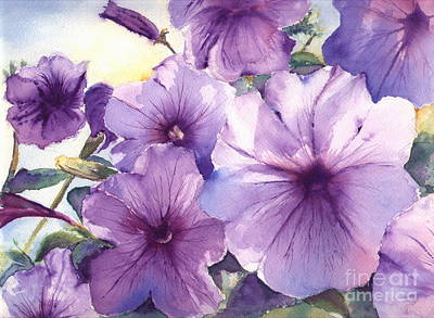 Purple Profusion Art Print