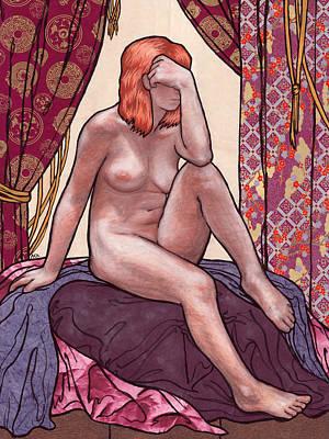 Purple Prose Art Print