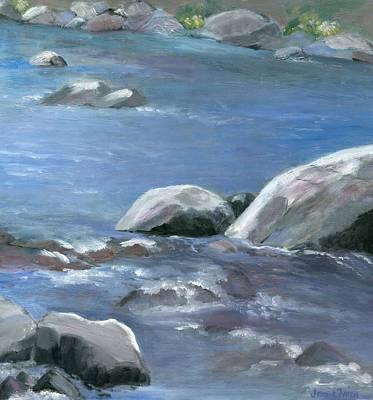 Painting - Purple Rapids by Jamie Frier