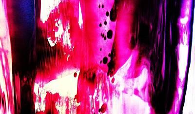 Purple Red Haze Art Print