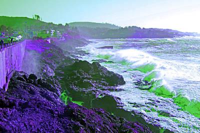 Purple Rock Beach Original