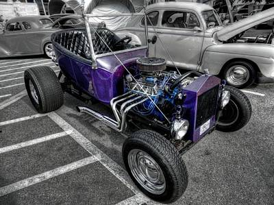 Purple Rod 001 Art Print by Lance Vaughn