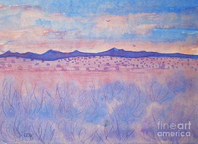 Painting - Purple Sage by Suzanne McKay