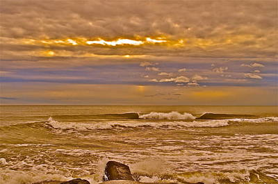 Photograph - Purple Skies by Joe  Burns