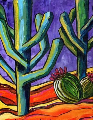 Painting - Purple Sky IIi by Alexandria Winslow