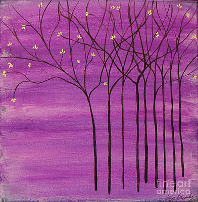 Painting - Purple Spring by Lee Owenby