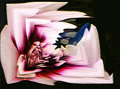 Digital Art - Purple Squared by Dennis Buckman