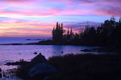 Photograph - Purple Sunset 3 by Sheila Byers