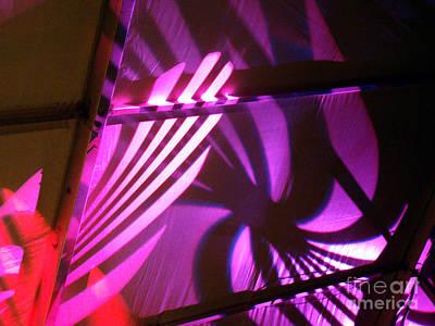 Photograph - Purple Swirls by Eva Kato