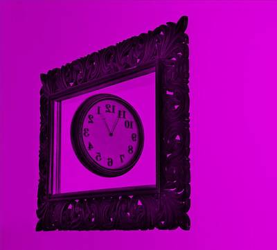 Photograph - Purple Time Frame by Rob Hans