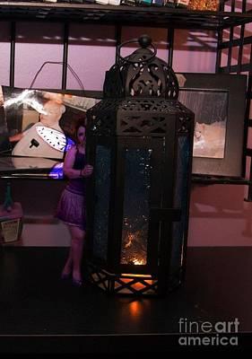 Purple Tinkerbell Original by Leanna Faro