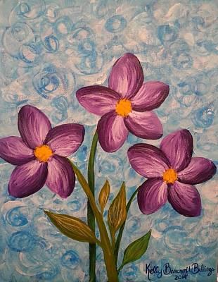 Purple Trio Original