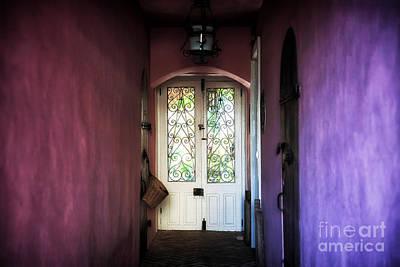 Photograph - Purple Walls by John Rizzuto