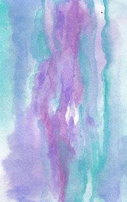 Mixed Media - Purples by Laura K Aiken