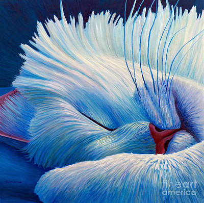 Painting - Purr by Brian  Commerford