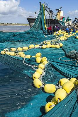 Western Purses Photograph - Purse Seine Fishing Net by Science Photo Library