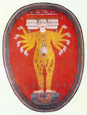 Purusha, The Cosmic Man Art Print